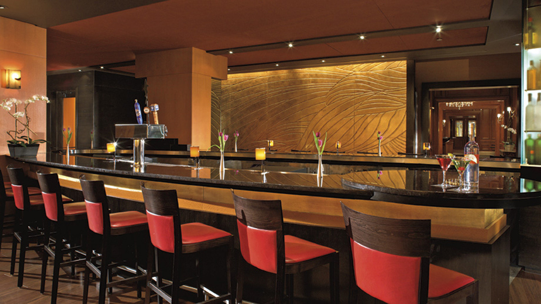 Bar Dining Drink Eat Hip Luxury Modern restaurant function hall café