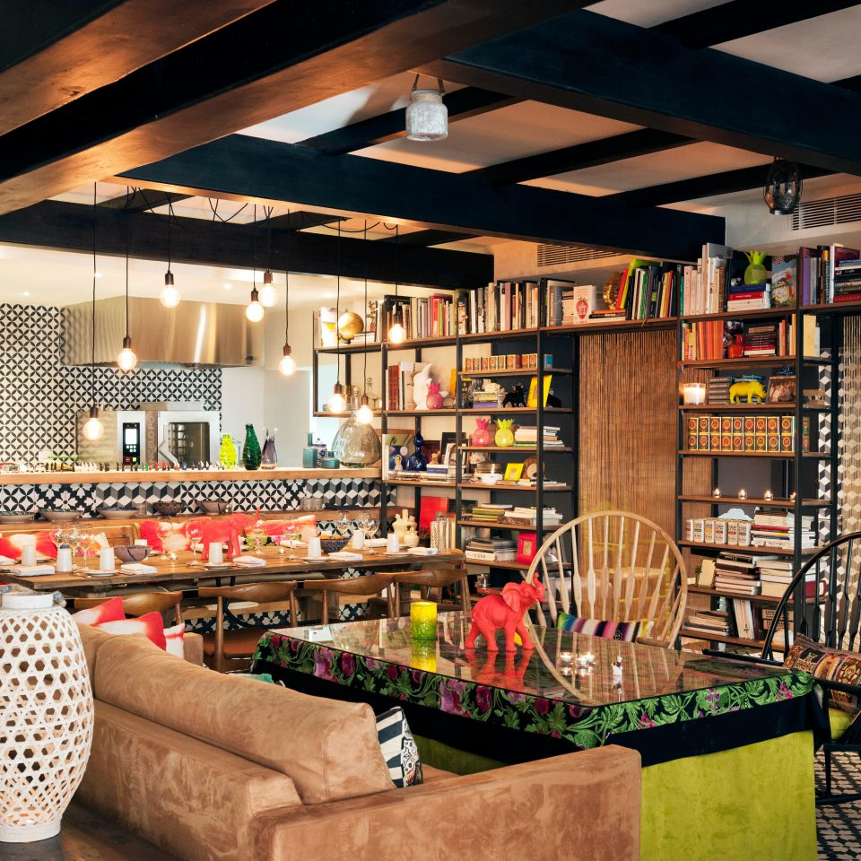 Bar Dining Drink Eat Hip Luxury Modern grocery store restaurant retail