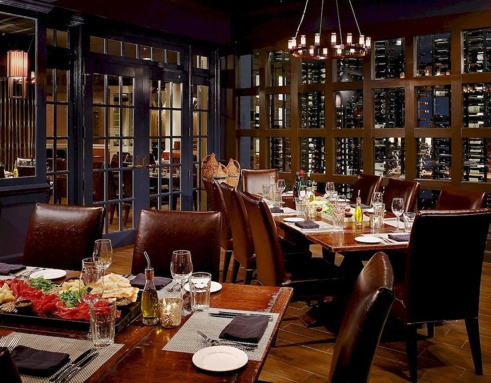 Bar Dining Drink Eat Elegant Hip Lounge chair restaurant café function hall set dining table