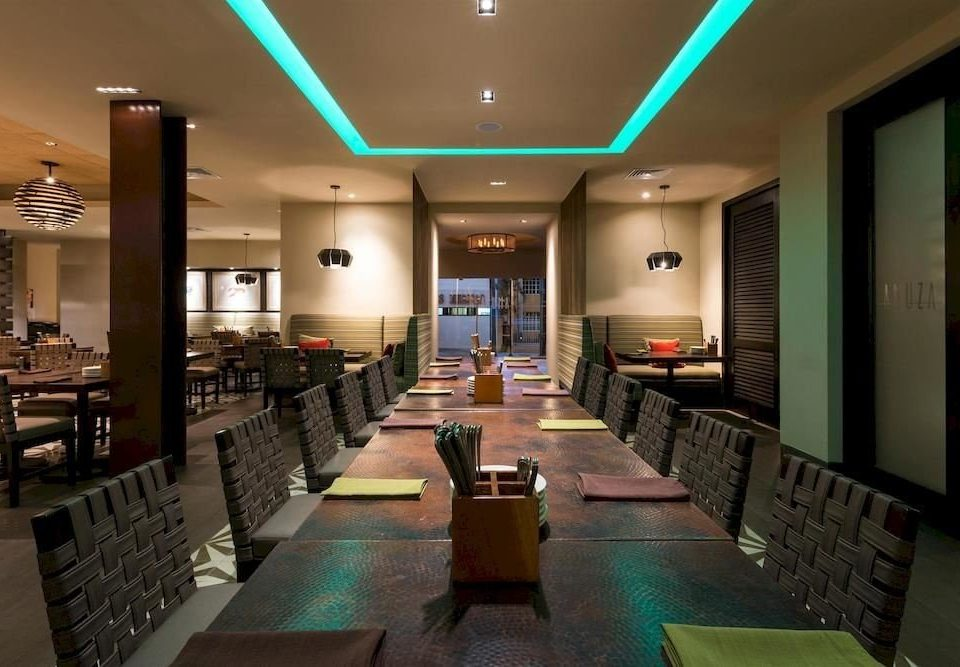 Bar Dining Drink Modern green Lobby lighting restaurant recreation room function hall conference hall convention center condominium long