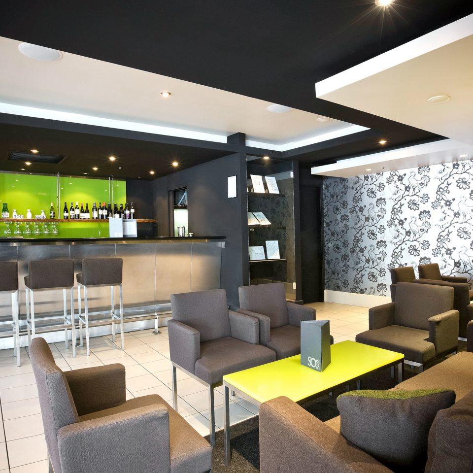 Bar Drink chair property Lobby condominium restaurant lighting Dining living room Modern