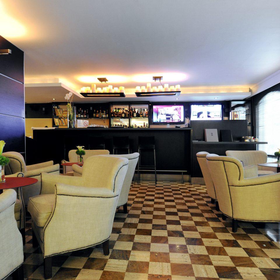 Bar Dining Drink Luxury Modern vehicle Lobby yacht restaurant living room tiled