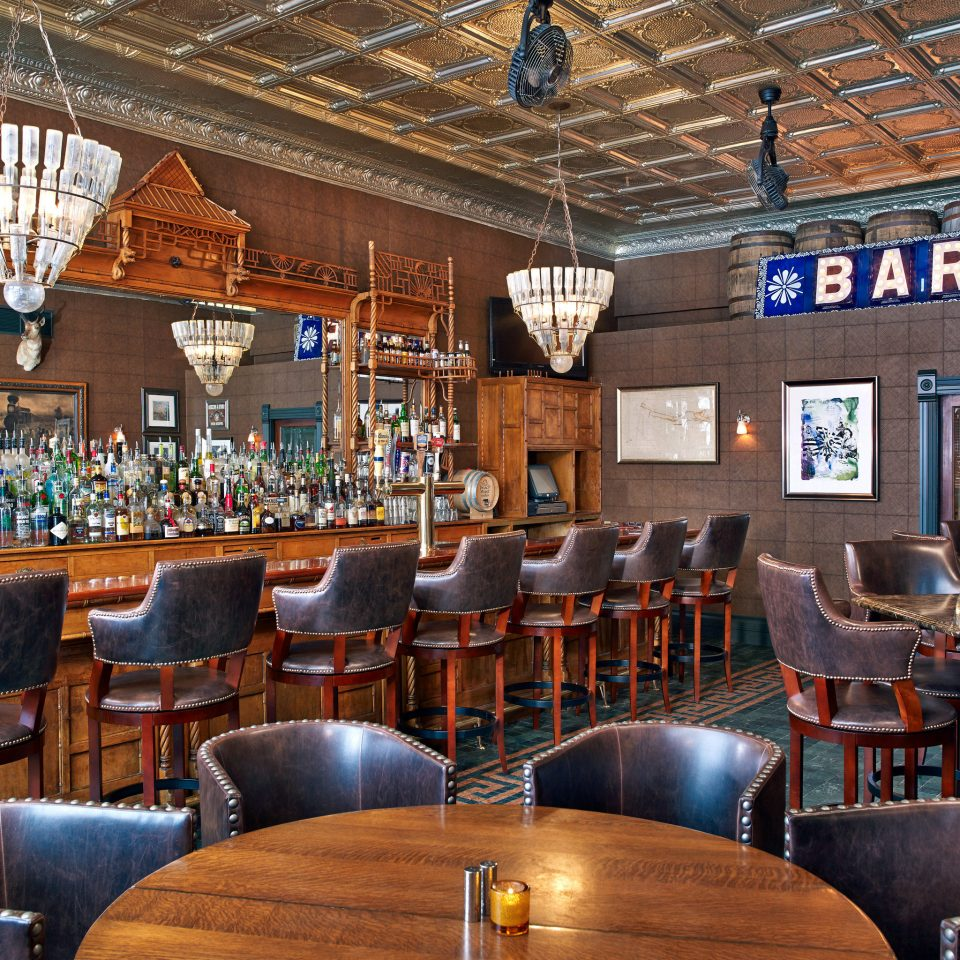 Bar Drink Rustic chair building restaurant café Dining function hall