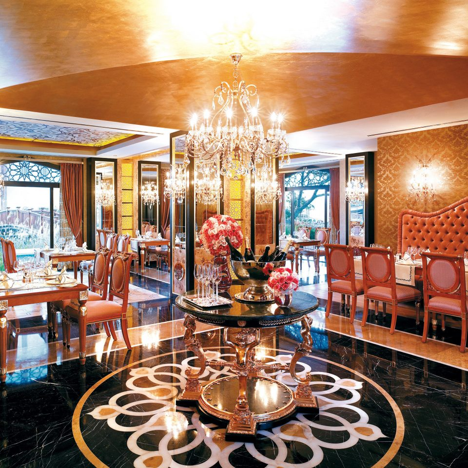 Dining Eat Luxury Resort Waterfront Lobby restaurant Bar palace mansion function hall Island