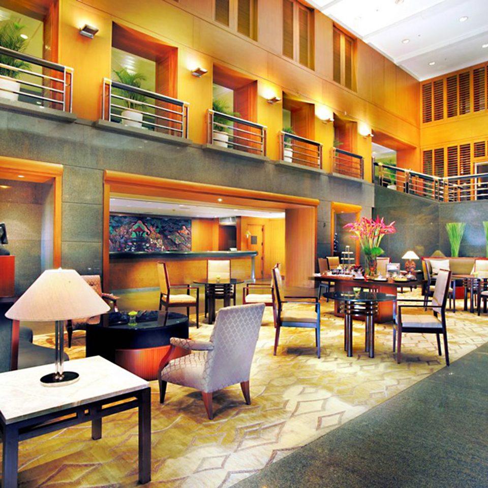 Bar Dining Eat Luxury chair Lobby restaurant café lamp