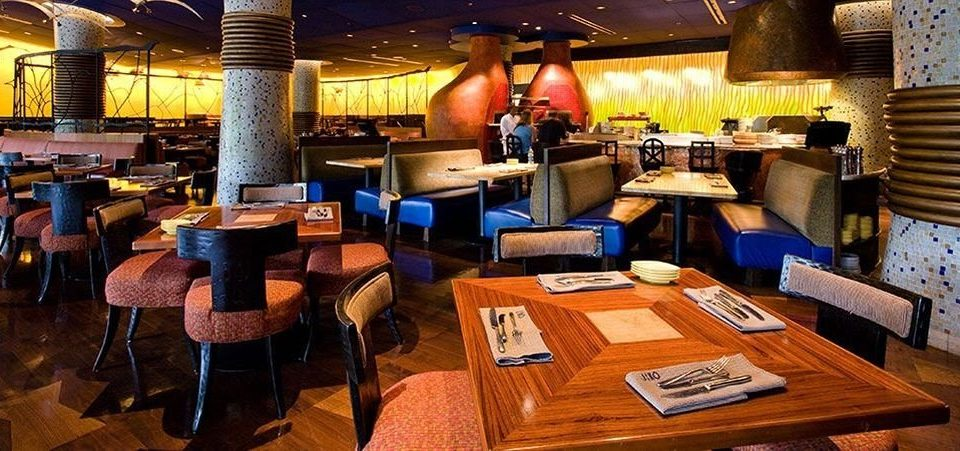 Dining Family Resort restaurant Bar cluttered