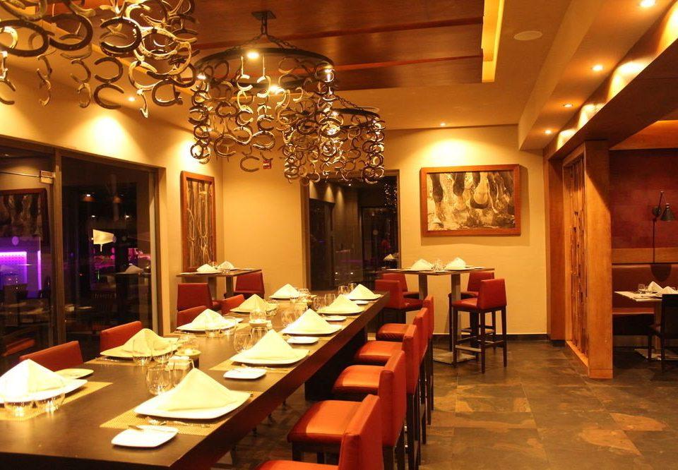 function hall Dining restaurant ballroom Bar set Island dining table