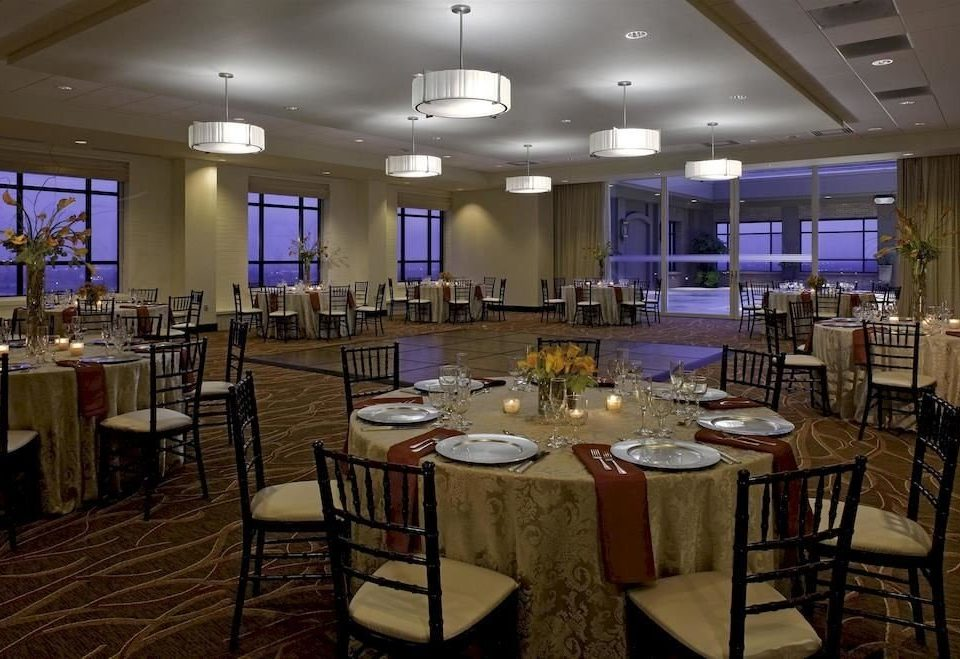 chair function hall restaurant Dining banquet ballroom conference hall convention center Bar set Island