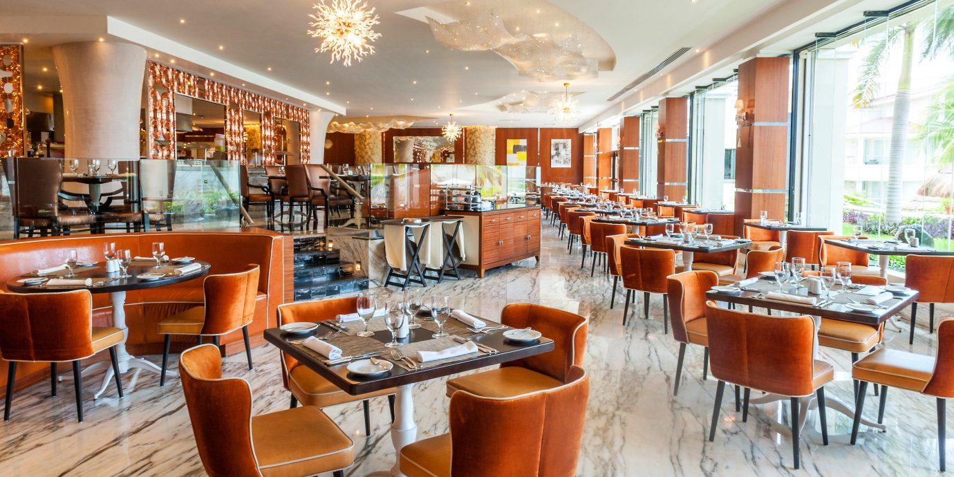chair property restaurant Dining café Bar cafeteria Island