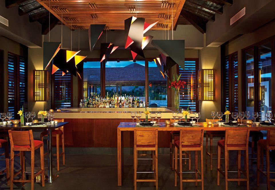 chair Dining restaurant function hall Bar Island
