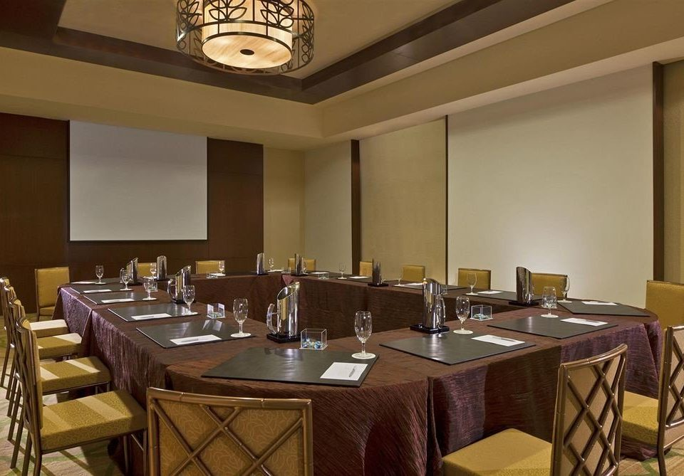 restaurant function hall conference hall Dining Bar Island dining table