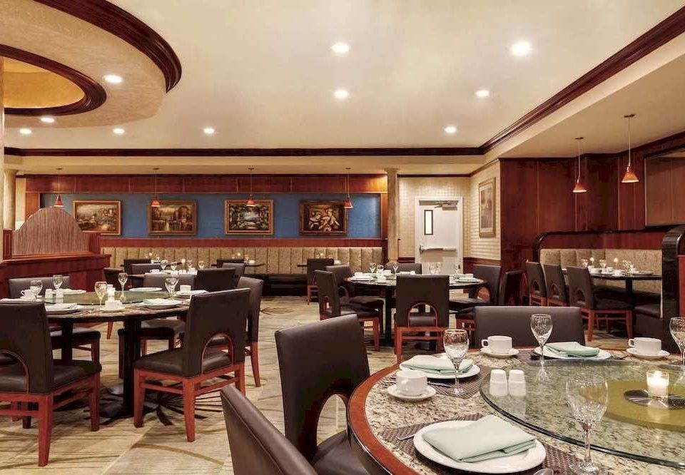 Kitchen property restaurant Lobby yacht Dining function hall recreation room living room passenger ship Island Bar