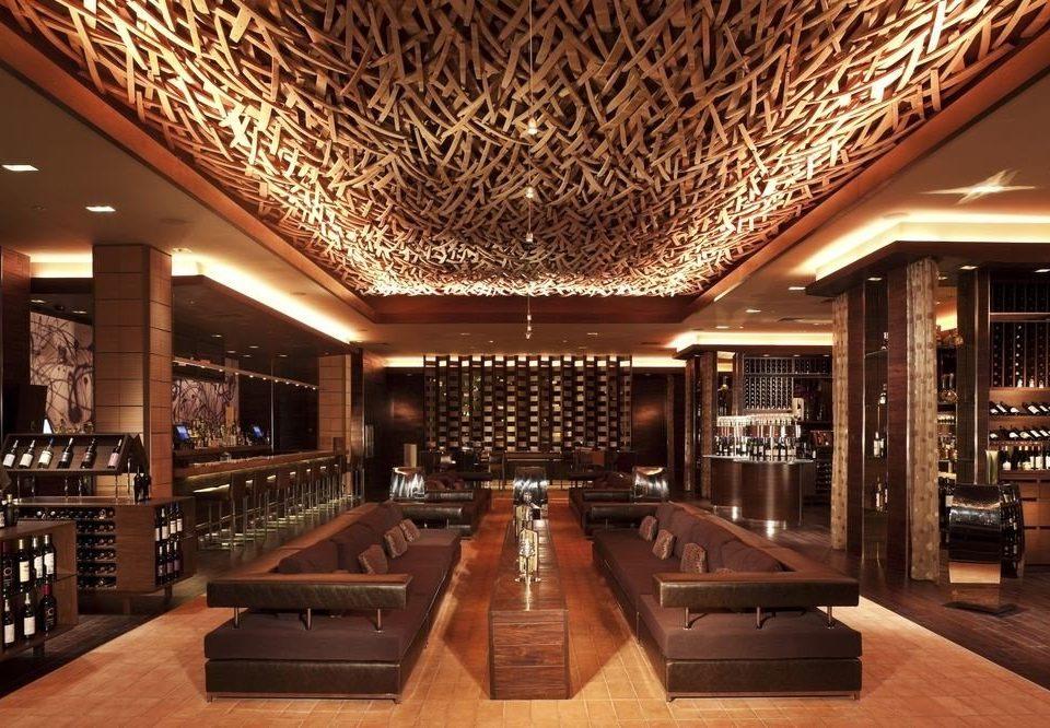 Lobby Winery function hall billiard room Bar recreation room Dining wine cellar ballroom convention center Modern Island basement