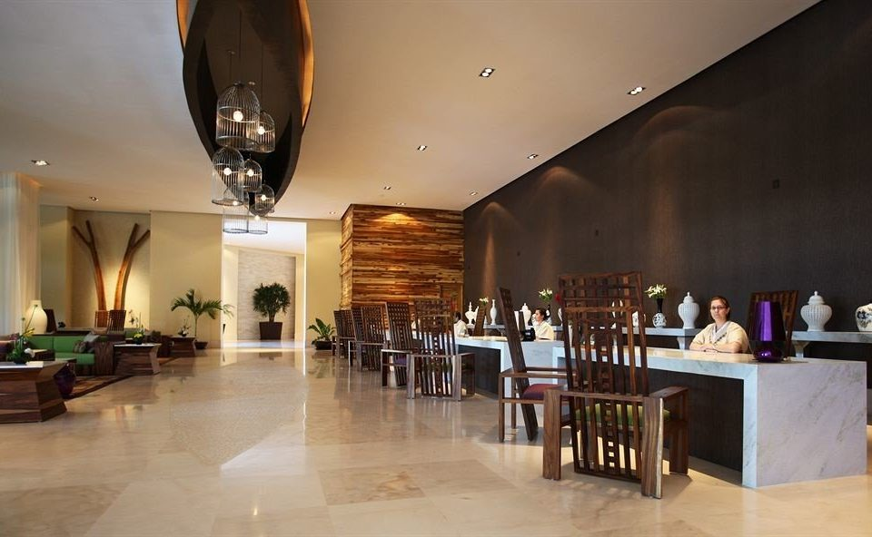 Lobby restaurant lighting Dining function hall Bar Island