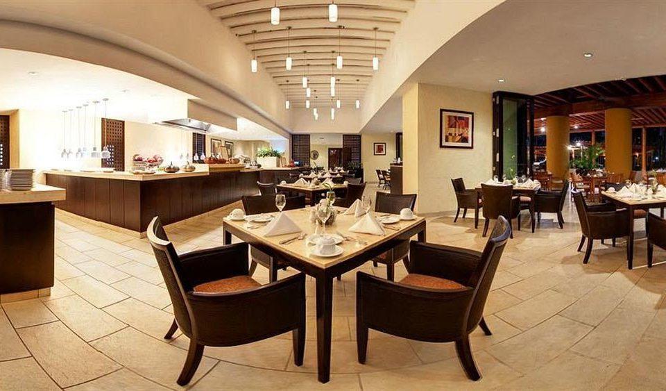Resort chair property restaurant Lobby Dining function hall café Modern Bar Island