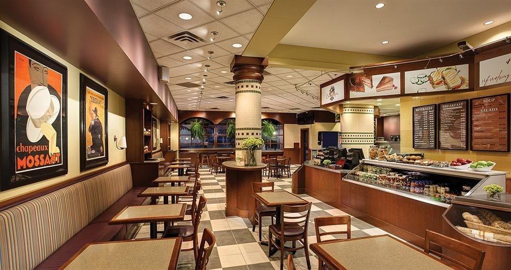 Dining café restaurant counter recreation room Bar Island Modern steel