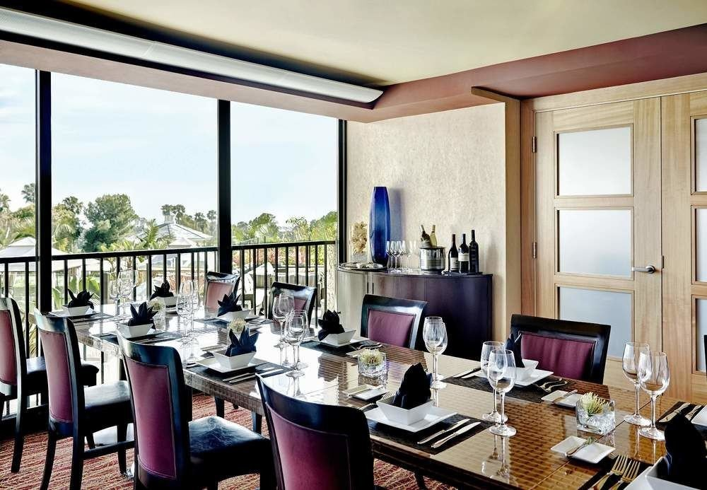 property living room home condominium Dining Suite Villa dining table overlooking Bar Island
