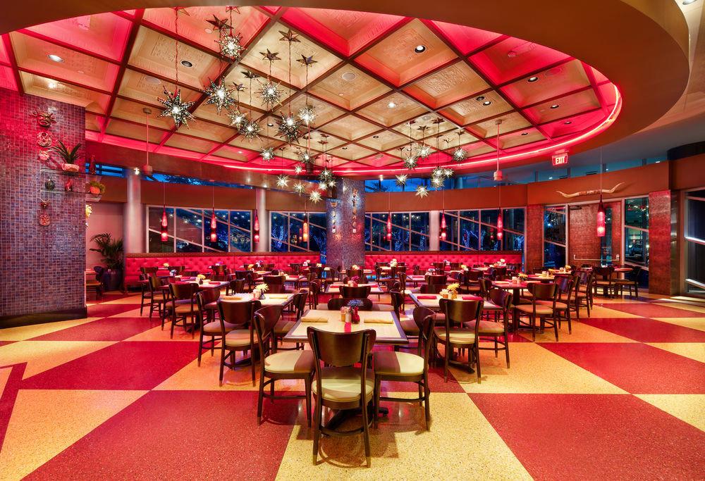 chair function hall auditorium restaurant red convention center ballroom Lobby conference hall Dining nightclub Bar