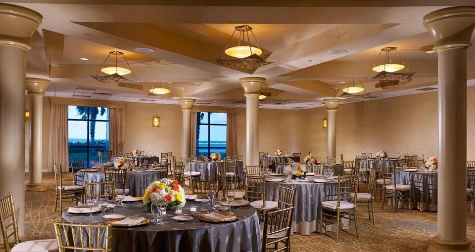 chair function hall Dining restaurant ballroom banquet Lobby wedding reception set Bar
