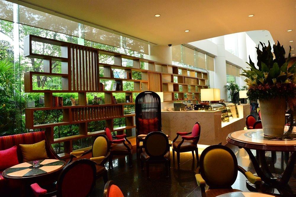 chair building restaurant Dining Lobby café library Bar