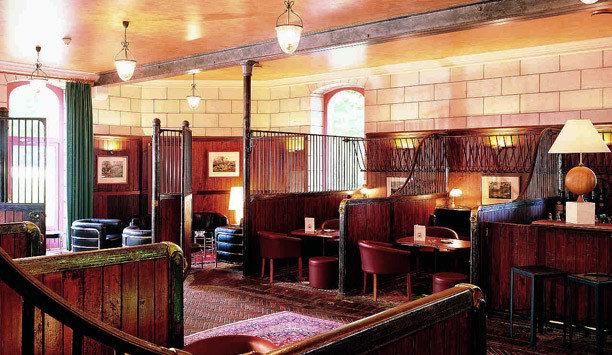 chair restaurant Lobby Dining café Bar set