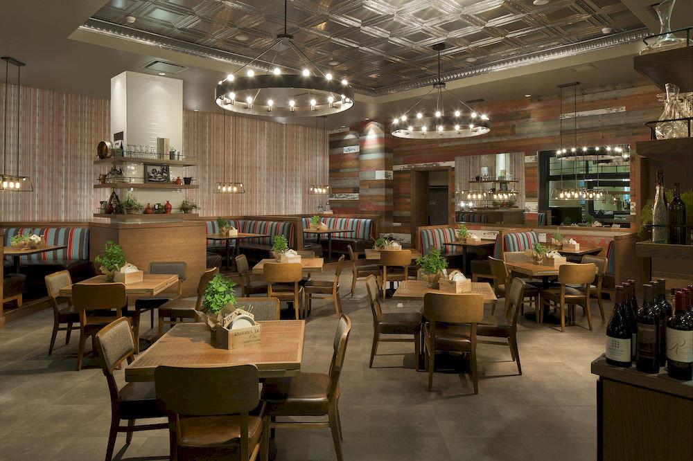 chair restaurant cafeteria café food court Dining Lobby function hall convention center Bar