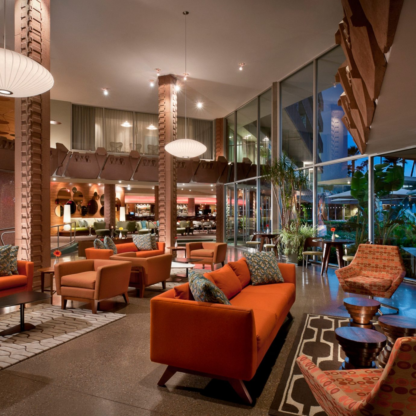 Lounge Luxury Scenic views chair Lobby home living room Resort restaurant Dining orange Bar