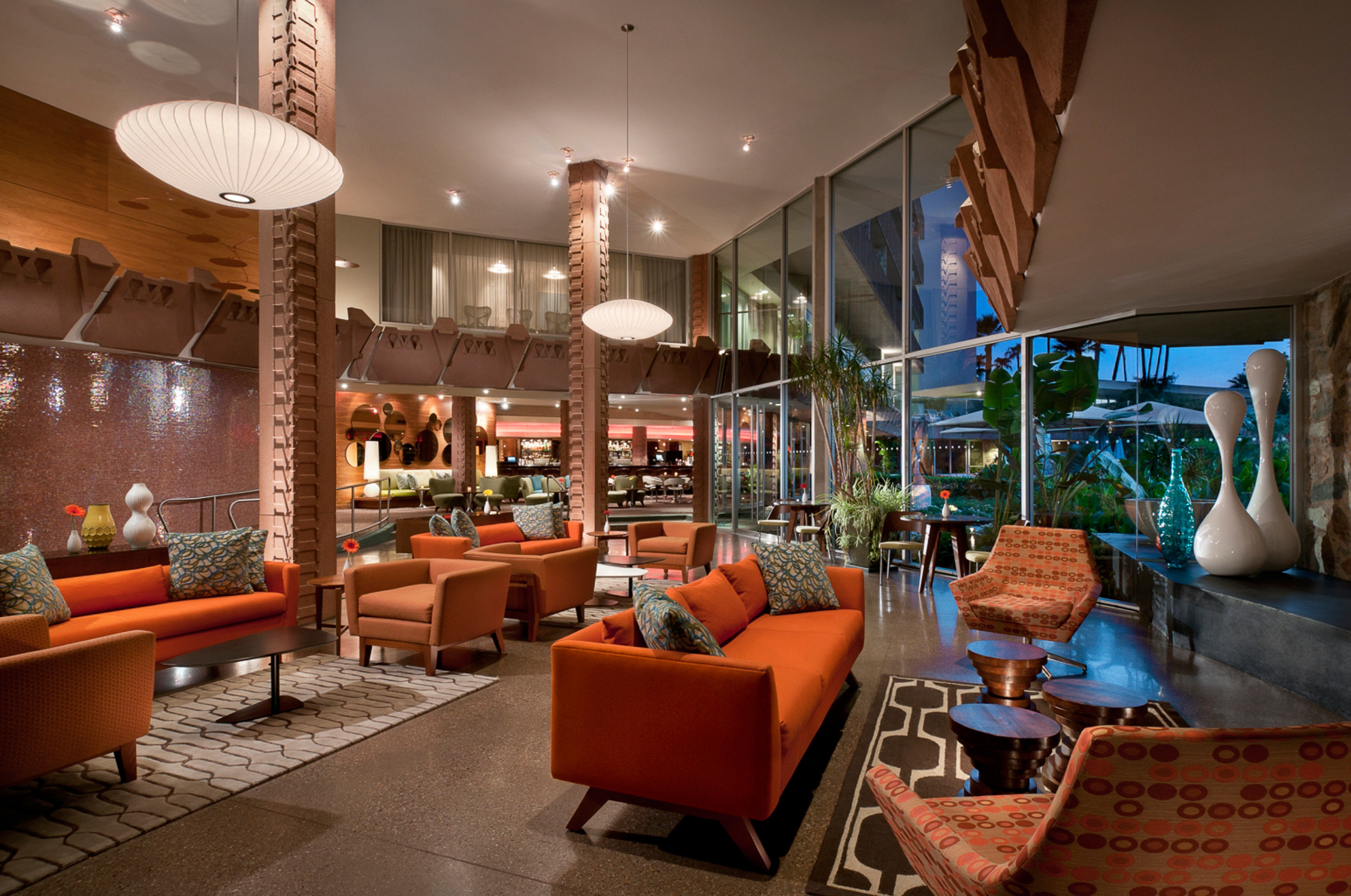 Lounge Luxury Scenic views chair Lobby home living room Resort restaurant Dining orange Bar
