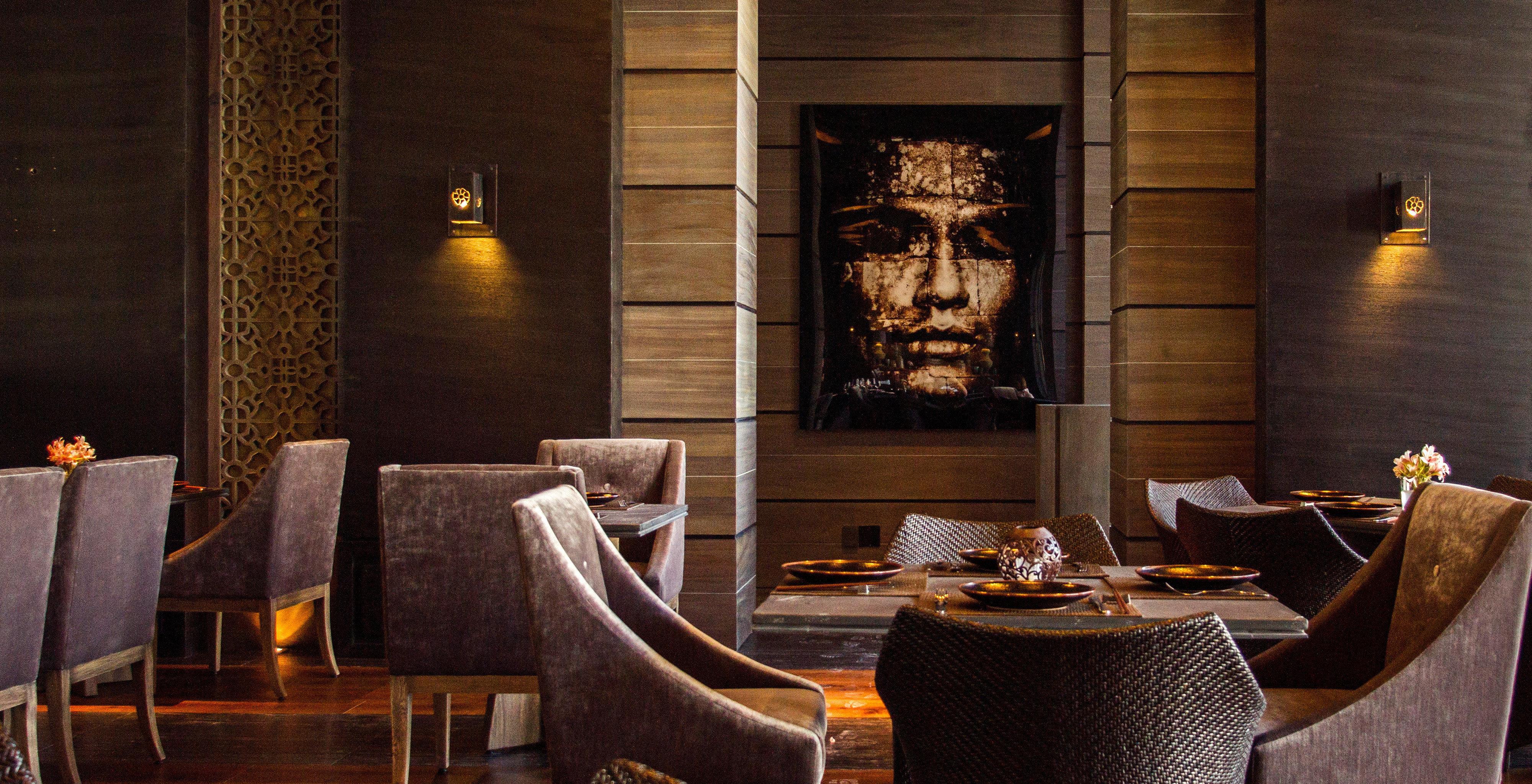 Dining Modern chair restaurant lighting Lobby Bar set