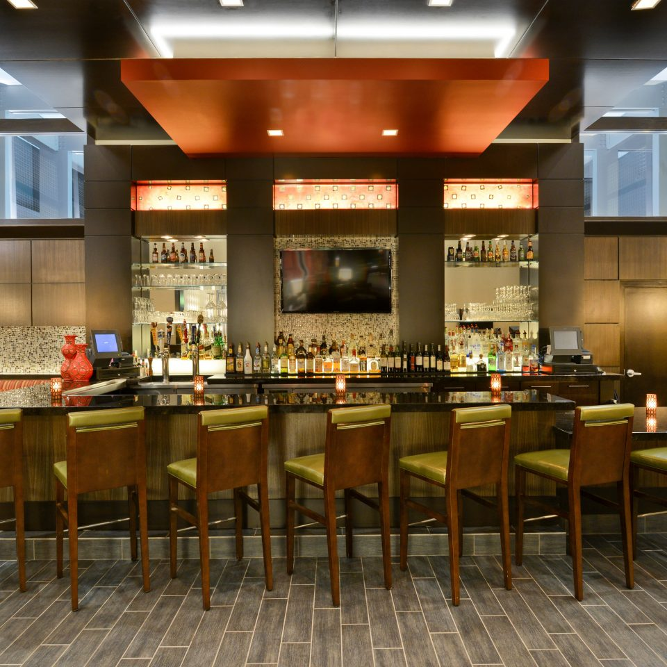 Bar Modern chair function hall restaurant cafeteria café Lobby convention center conference hall ballroom Dining
