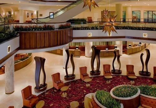 Lobby restaurant Resort function hall Dining Bar buffet palace set dining table