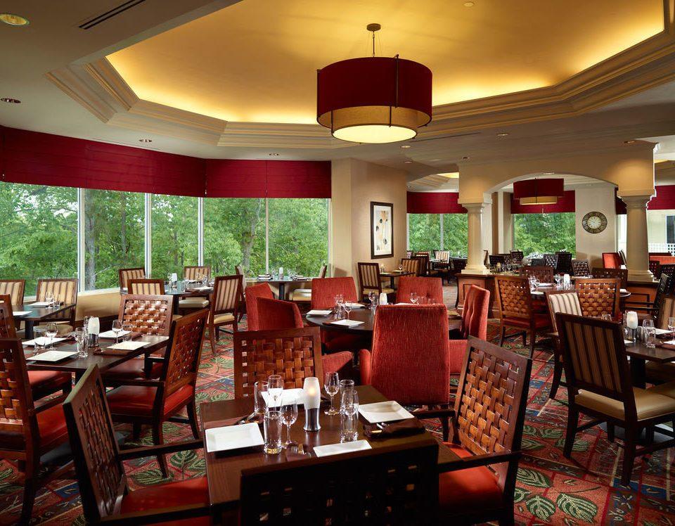 chair Dining restaurant café Resort function hall Lobby Bar dining table