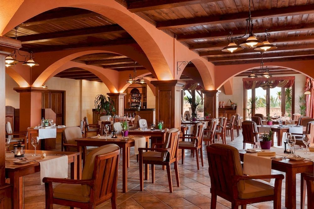 chair Dining restaurant Resort function hall palace Bar hacienda Lobby set dining table