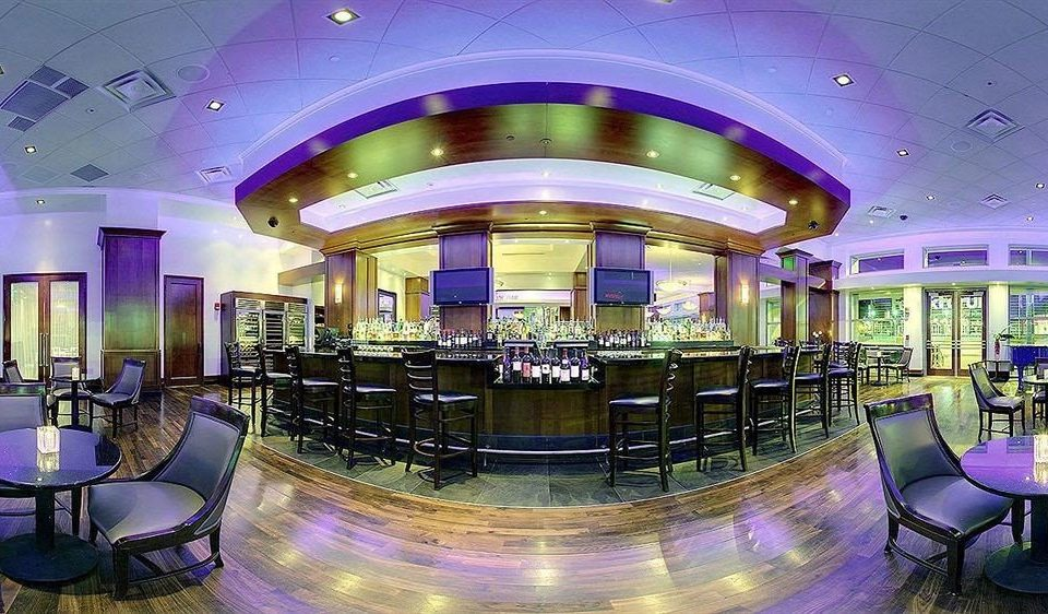 chair Lobby purple function hall convention center nightclub Bar conference hall Resort Dining empty
