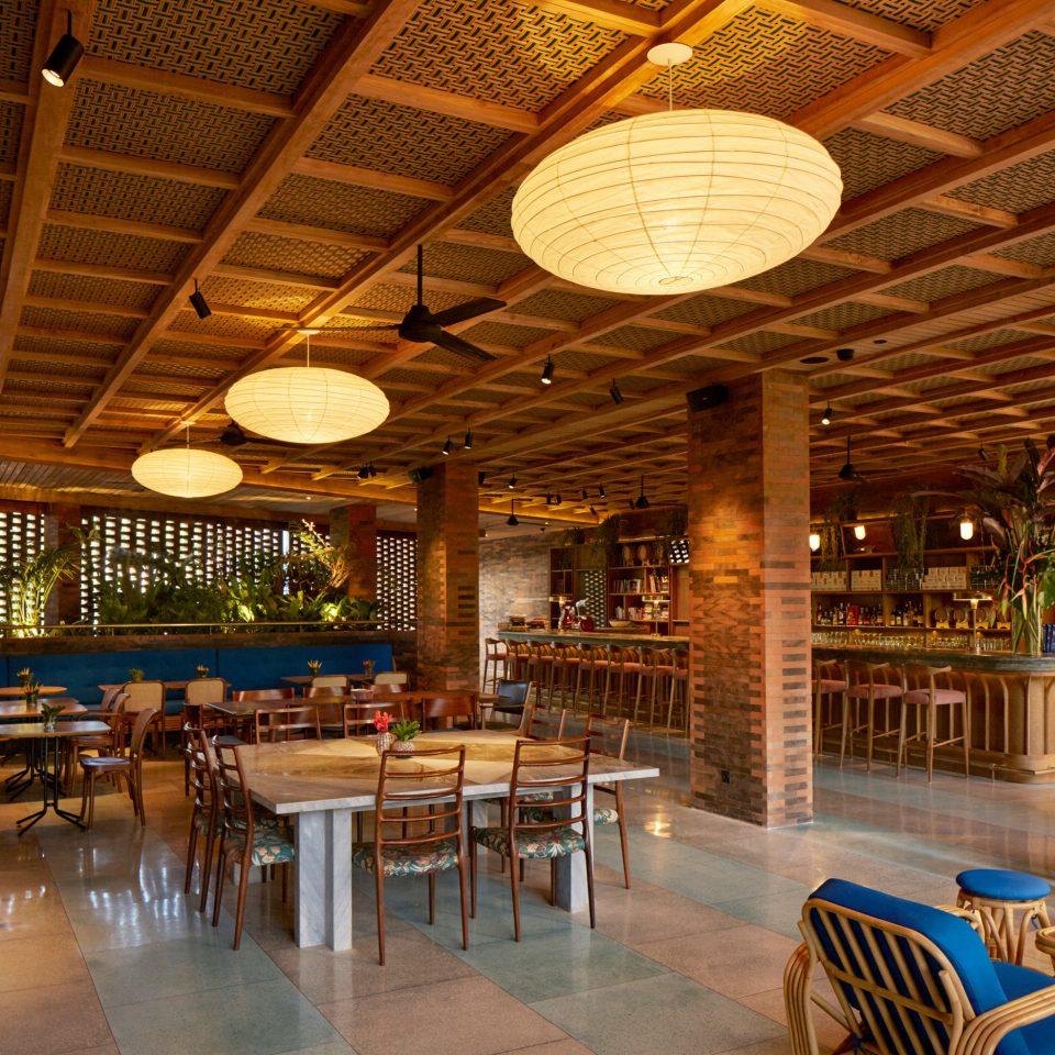 chair Resort restaurant Dining Lobby Bar function hall tavern set