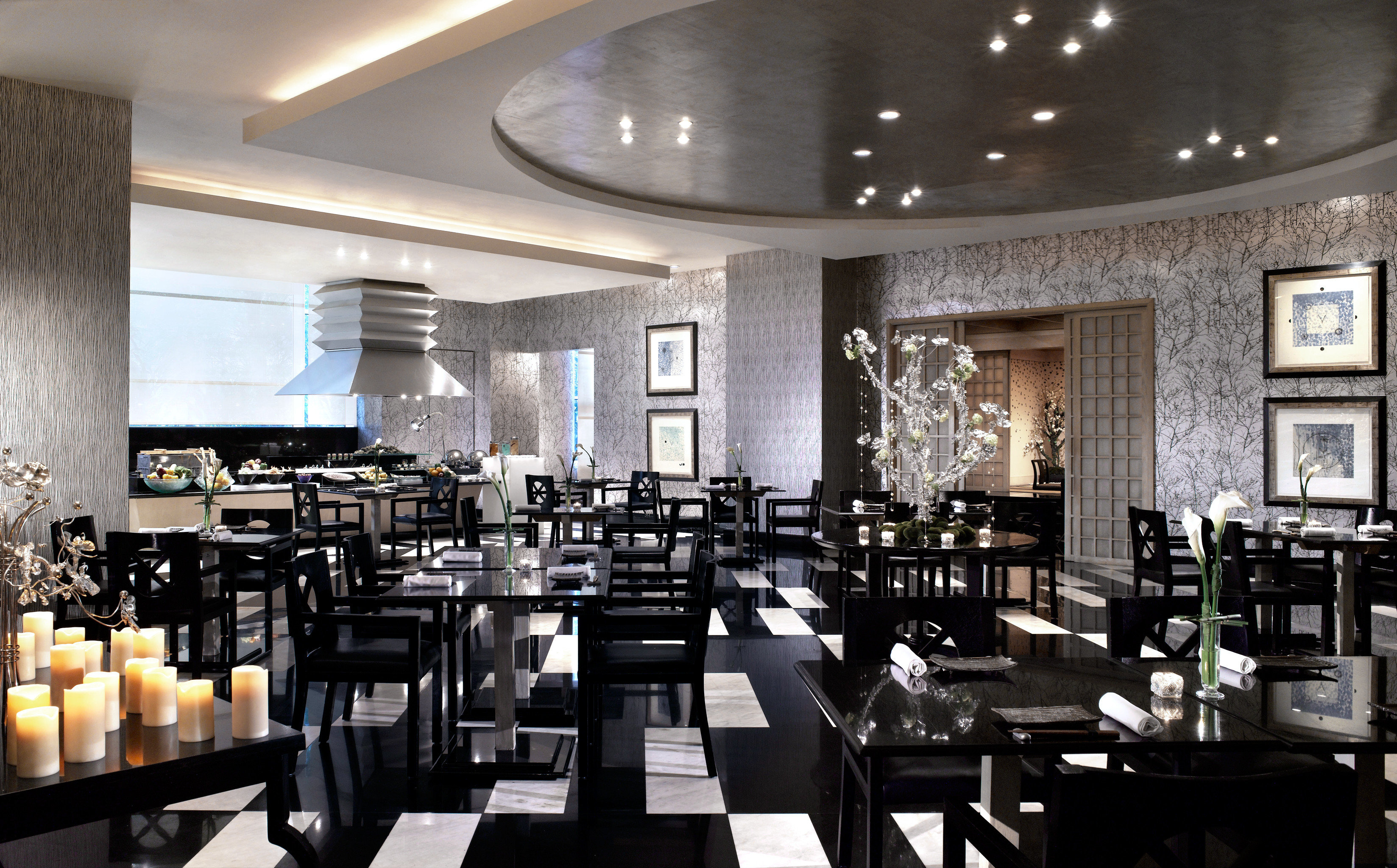 Dining Luxury Romance chair restaurant function hall conference hall lots convention center Bar