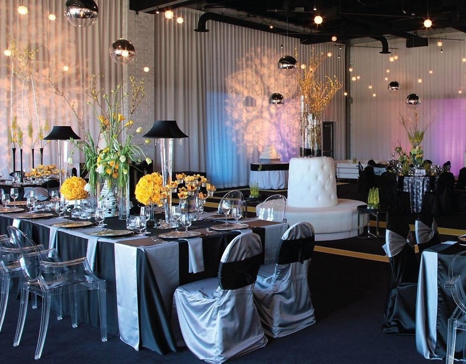 Dining Modern chair function hall wedding reception wedding banquet ceremony Party quinceañera ballroom event centrepiece rehearsal dinner floristry Bar