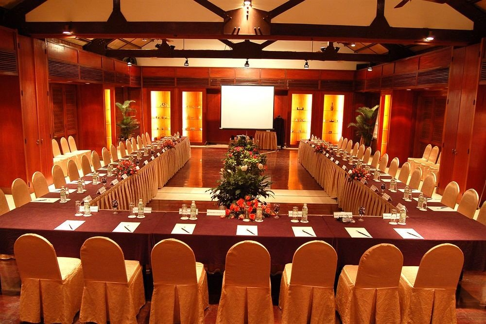 chair function hall Dining banquet Party ballroom conference hall restaurant wedding reception long Bar set conference room