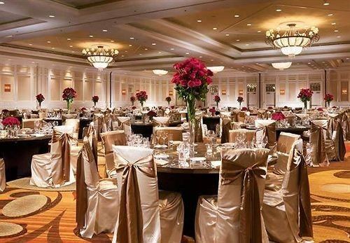 function hall banquet wedding wedding reception ceremony ballroom Dining Party dinner event restaurant set Bar fancy