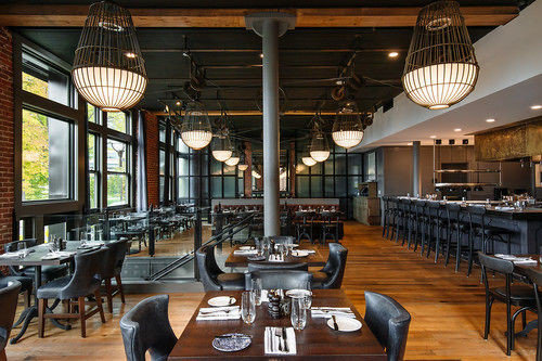 chair restaurant Resort café Bar Dining dining table