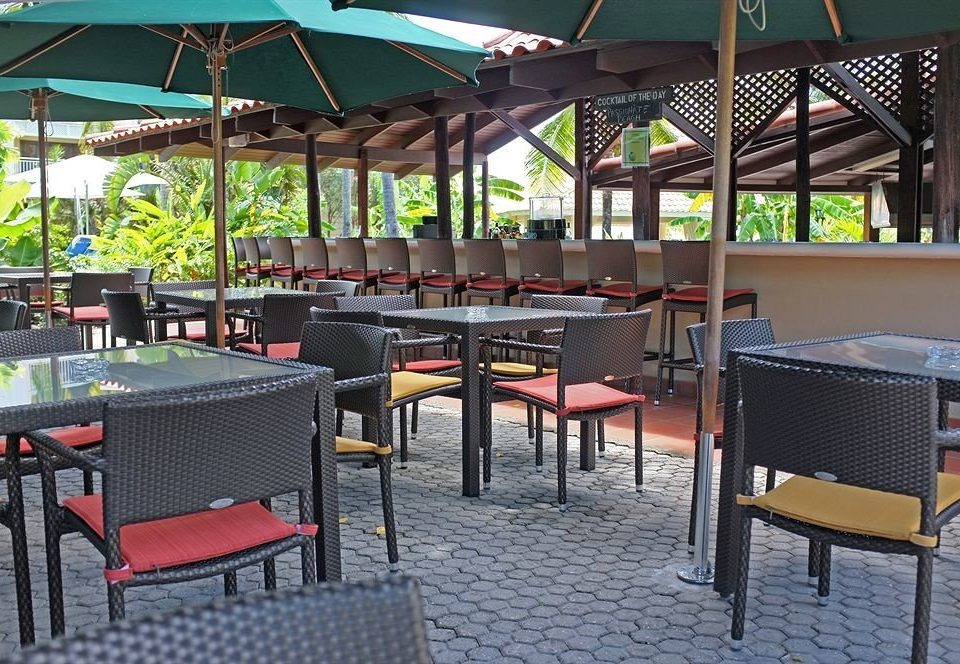 chair umbrella restaurant Resort Bar Dining outdoor structure