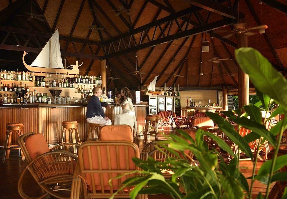 chair Dining restaurant Resort Bar set dining table