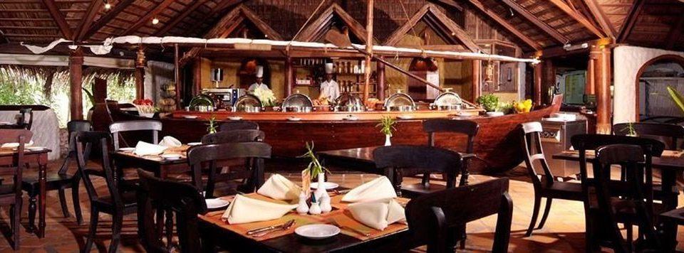 chair Dining restaurant tavern Resort Bar set dining table