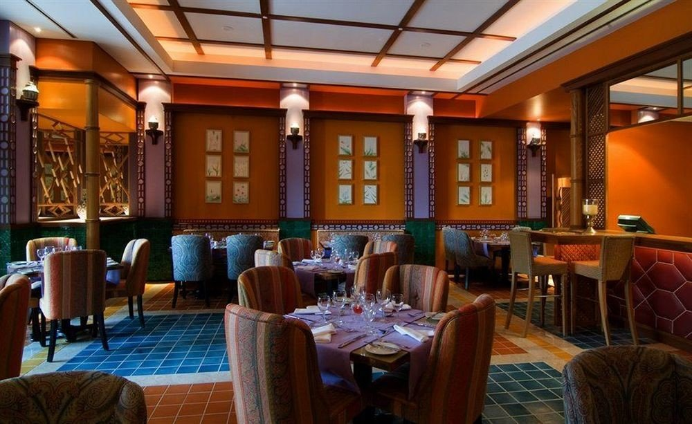 chair restaurant Dining function hall Resort Bar
