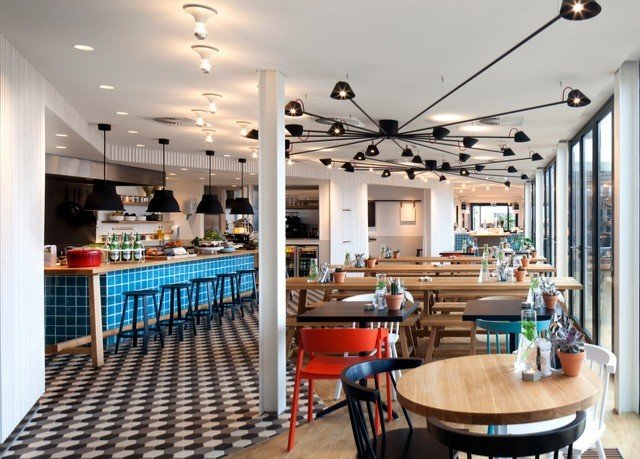 chair property restaurant Dining Resort Bar