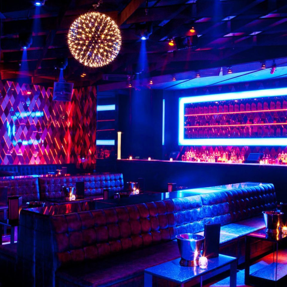 nightclub stage disco Bar music venue light musical theatre lit