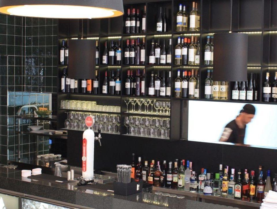 Bar liquor store Drink counter