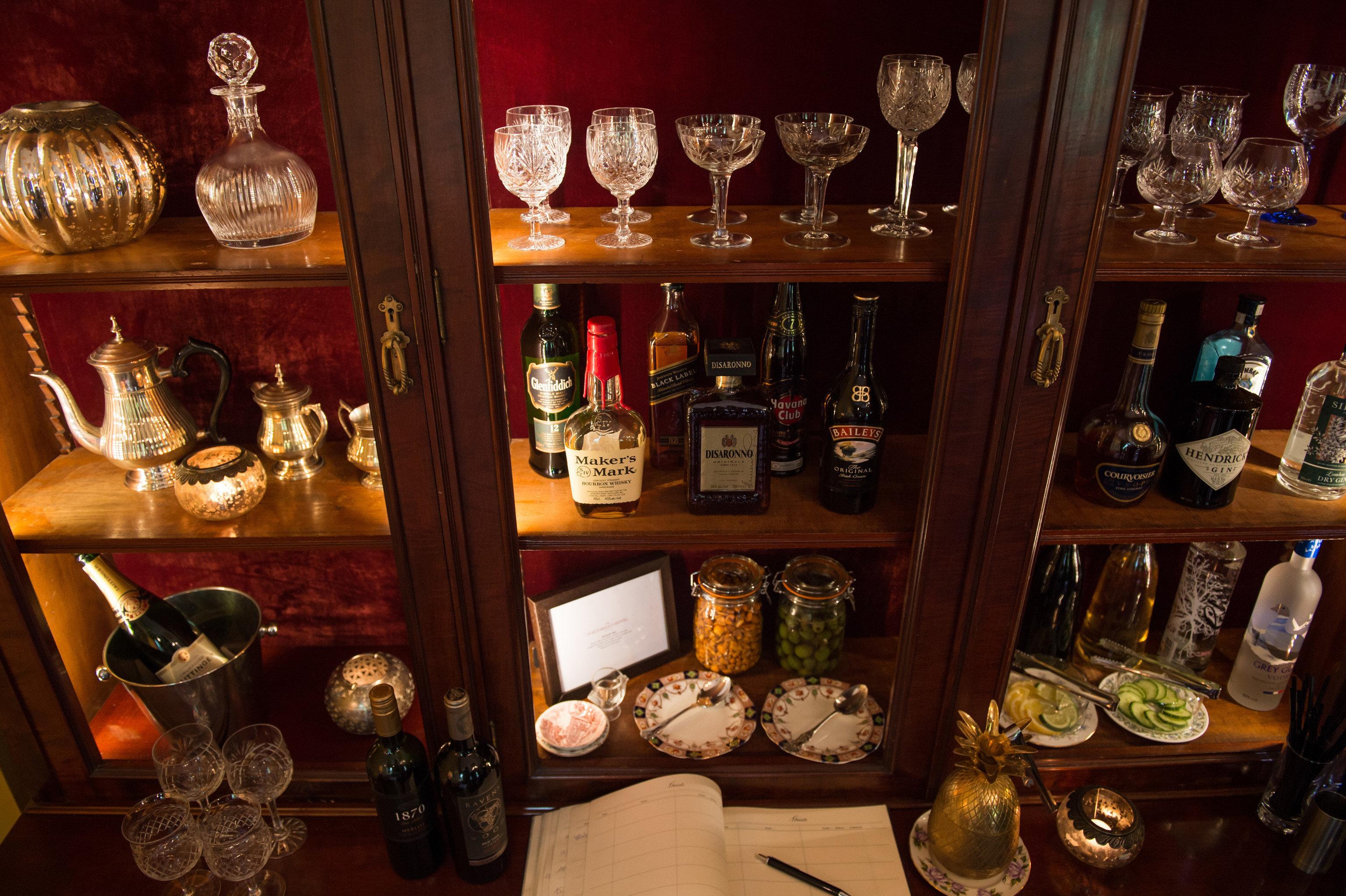 Bar shelf restaurant Drink distilled beverage different