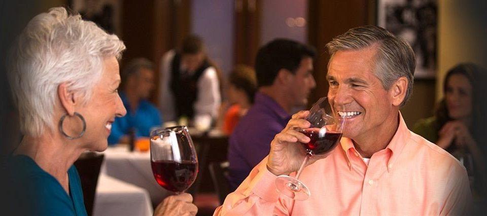 wine man glass glasses drinking Drink Bar older
