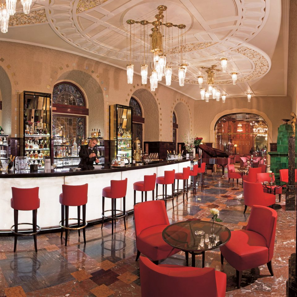 Bar Drink Eat Elegant Hotels Luxury Luxury Travel red restaurant function hall